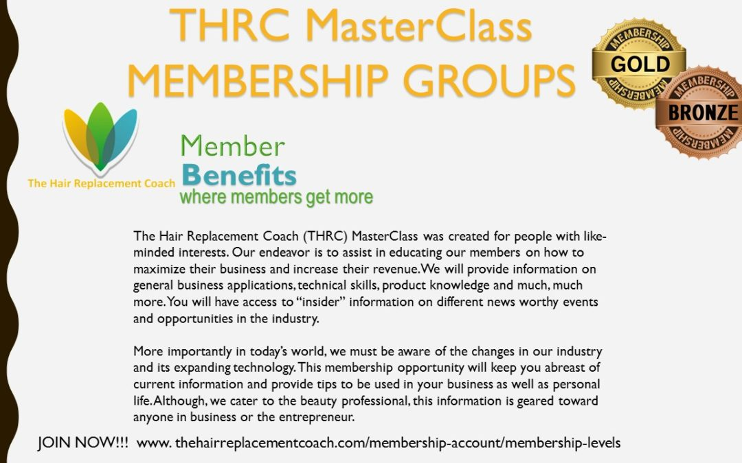 THRC MasterClass Membership Groups